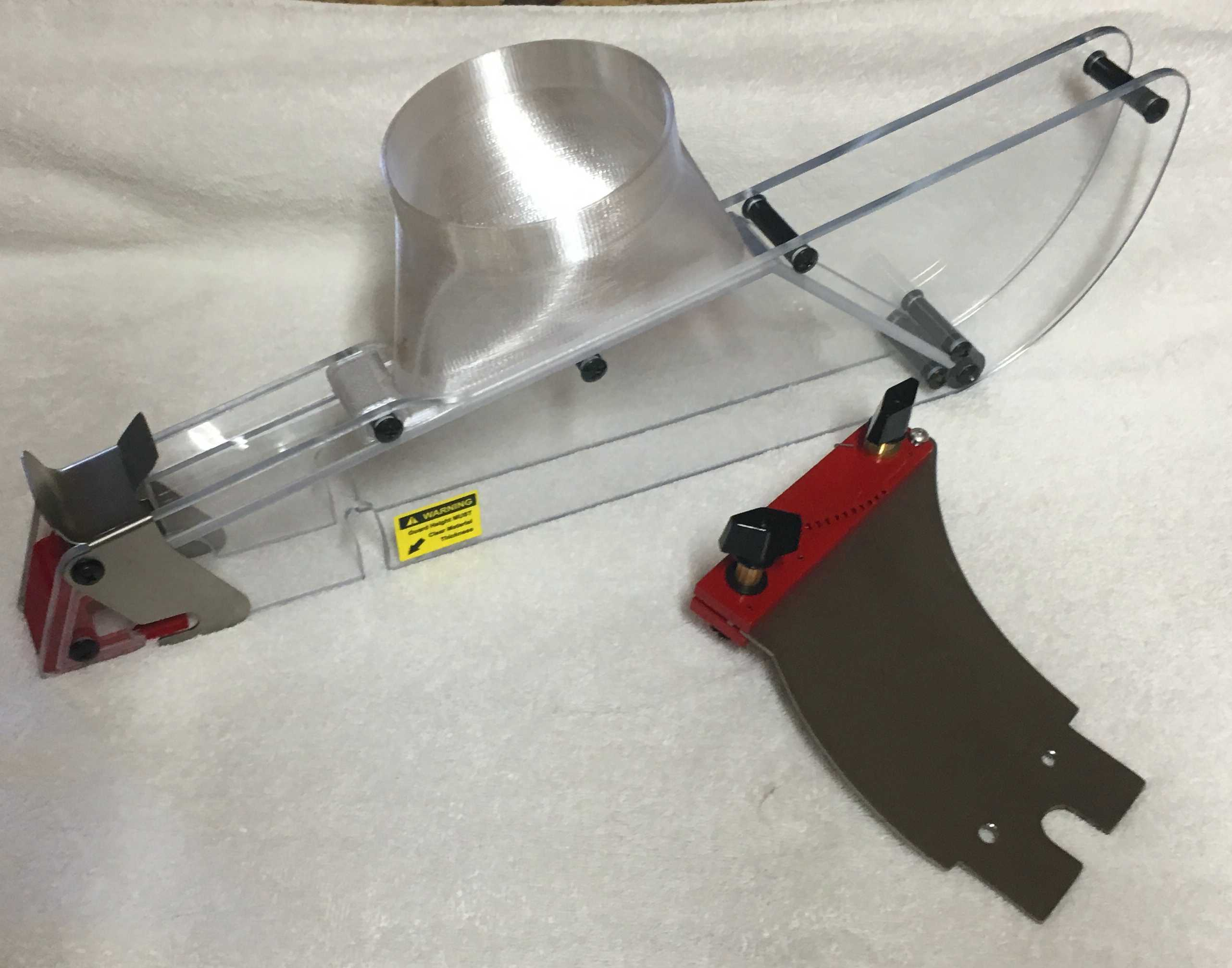 Leeway Workshop, LLC, Home of the Shark Guard, table saw blade guards