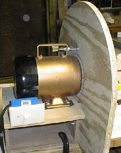 Shop built dust collector for Dust collector motor blower